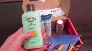 Influenster Surfs Up Vox Box First Impressions! Thumbnail