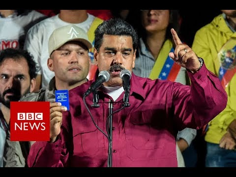 Venezuela\'s President Nicolás Maduro has won re-election to another six-year term, in a vote marred by an opposition boycott and claims of vote-rigging.   Please subscribe HERE http://bit.ly/1rbfUog