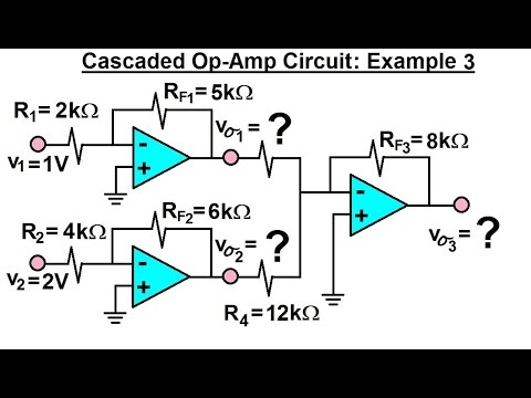Electrical engineering ch 5 operational amp 22 of 28 cascaded op electrical engineering ch 5 operational amp 22 of 28 cascaded op amp circuit example 3 publicscrutiny Gallery