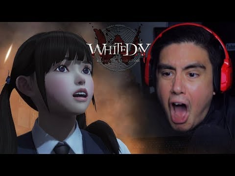 WE WOKE UP ALL THE SCHOOL'S SPIRTS & THEY WANT CHEEKS | White Day [6] (Korean Horror Game)