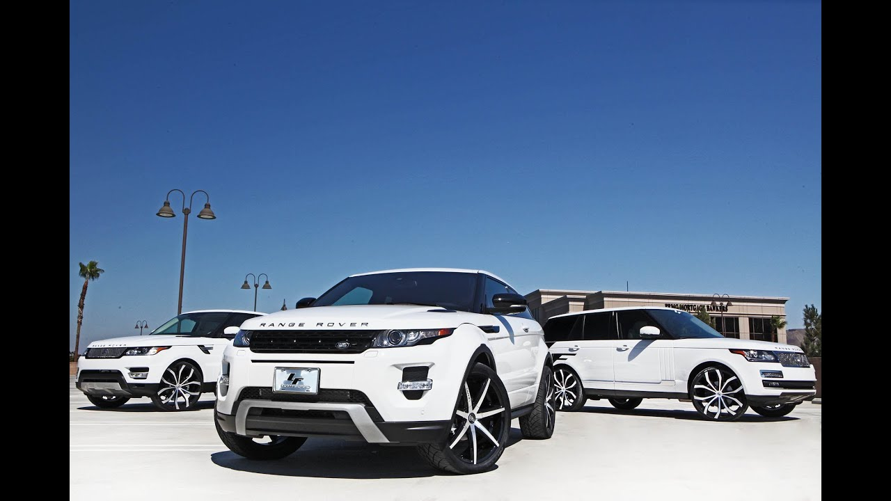 Land Rover Evoque 2014 >> Range Rover HSE, HSE Sport, Evoque Lexani wheels - YouTube