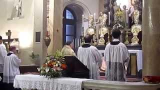 Vespri Beata Vergine - Rito ambrosiano - 23 4 2015 - 4 - Parte stazionale e Conclusione