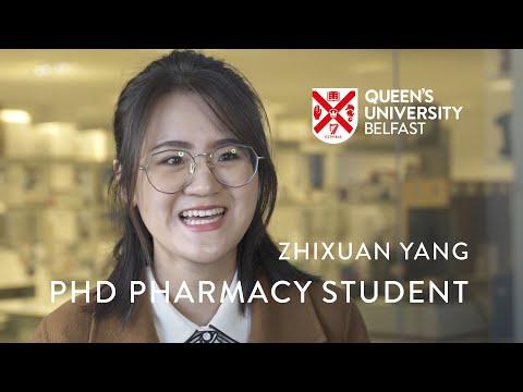 PhD Pharmacy Student - Zhixuan Yang