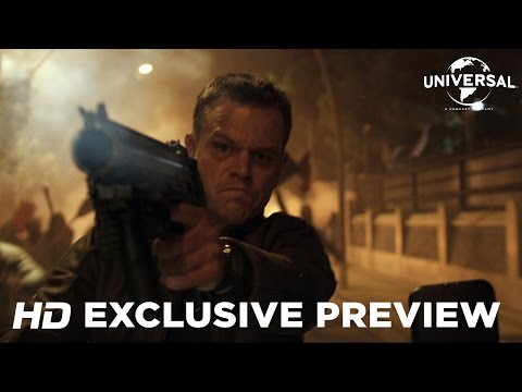 Jason Bourne (2016) Exclusive Preview (Universal Pictures) [HD]