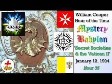 William Cooper 📻 Hour of the Time Mystery Babylon Hour 35 👽 Secret Societies Vatican II