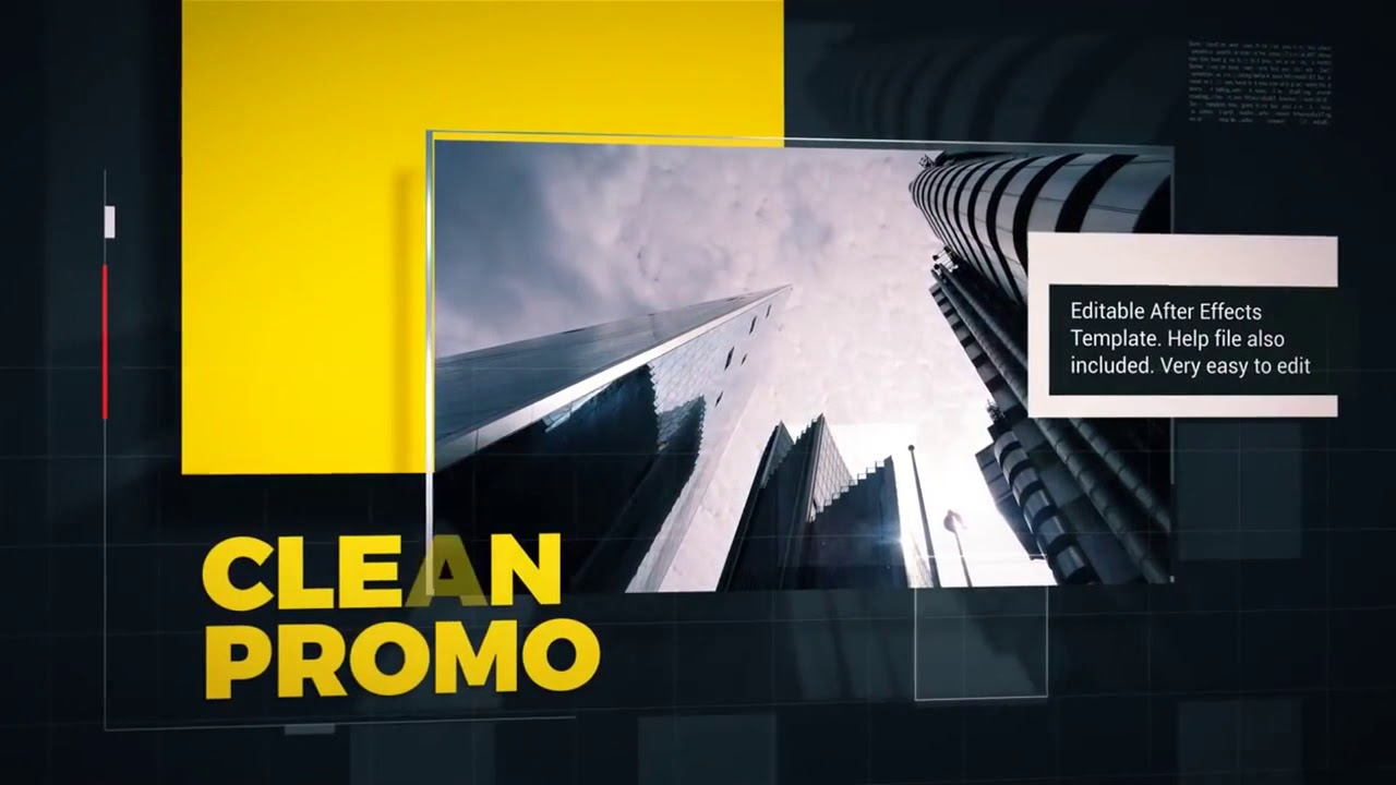 corporate slideshow after effects template free