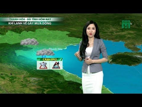 Thời tiết 6h 14/03/2019: Bắc Trung Bộ không khí lạnh về gây mưa dông | VTC14