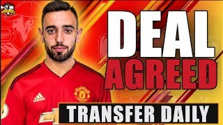 Manchester United agree on Bruno Fernandes Deal for £62.6m according to MEDIA REPORTS