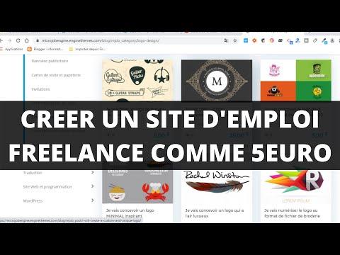 Comment Créer Un Site WordPress: agence freelance, 5euro.com, Fiverr.com