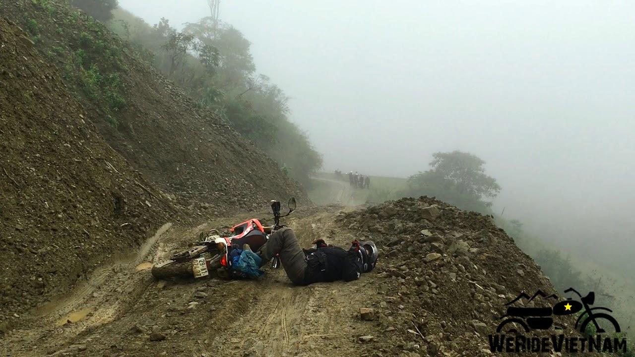 We Ride Vietnam - Northern Motorcycle Tour/ Drone footage 4K