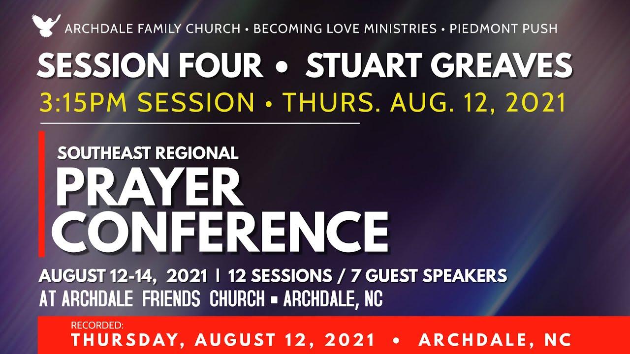 SESSION 4: Stuart Greaves • 3:15pm Session • Thurs. Aug 12, 2021