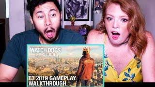 WATCHDOGS: LEGION - E3 2019 Gameplay Walkthrough | Ubisoft | Reaction!