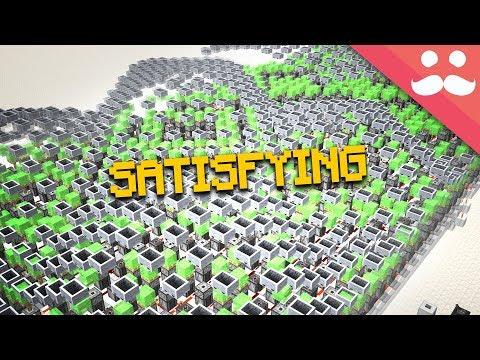 Most SATISFYING WAVE MACHINES In Minecraft!