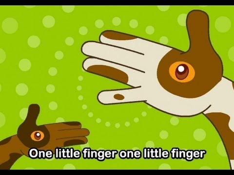 One Little Finger| Family Sing Along - Muffin Songs
