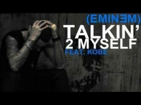 Eminem - Talking to Myself (Lyrics Video)