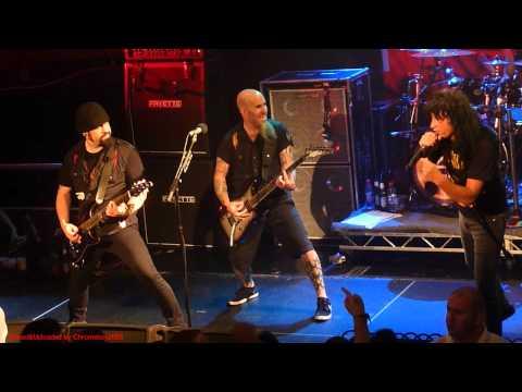 Anthrax - Antisocial Live At The Academy Dublin Ireland 16 Nov 2012