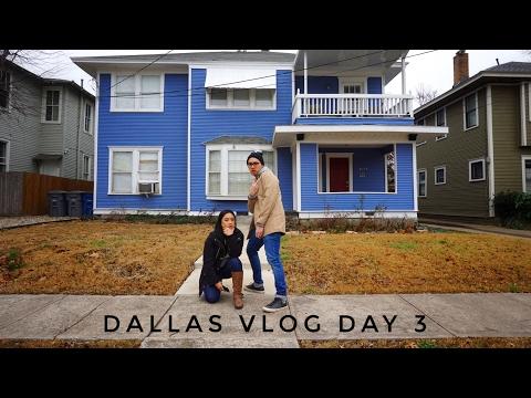 DALLAS VLOG DAY 3 | Visiting a Friend, Texas BBQ, Dive Bar