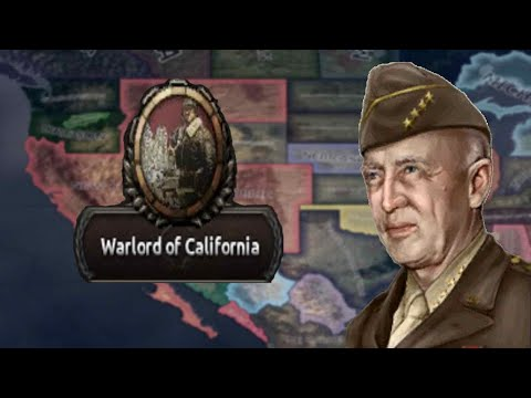 Hearts Of Iron 4: North America Divided - New California Republic - George Patton, America's Warlord |