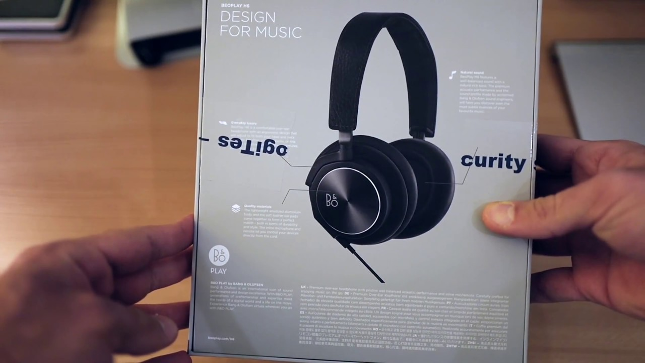 Dejlig Beoplay H6 2nd generation unboxing - YouTube SJ-95