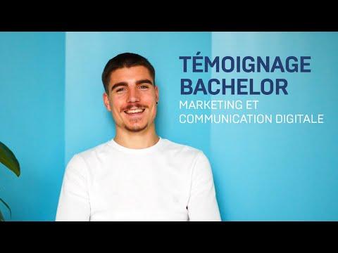 Témoignage -  Bachelor Marketing & Communication Digitale
