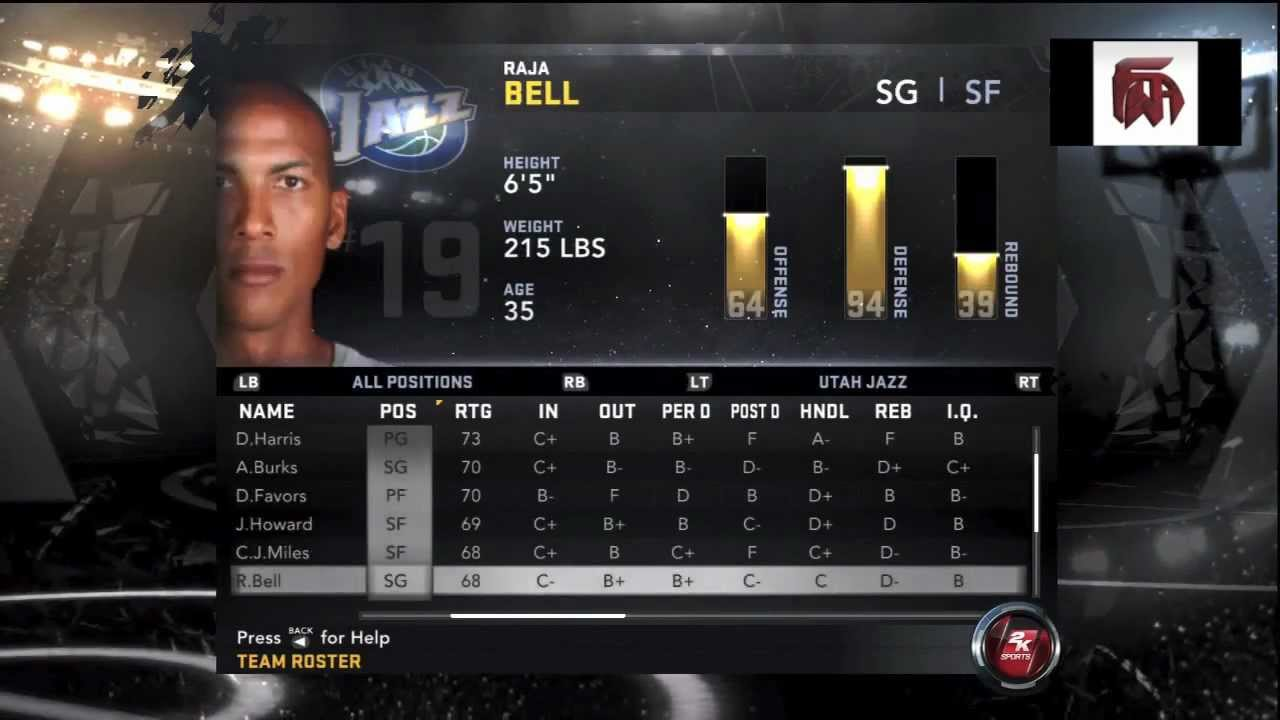 Nba 2k12 huge roster update including all 2012-2013 cyber face.