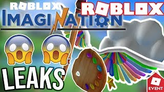 [LEAK] ROBLOX OFFICIAL IMAGINATION EVENT PRIZES | Leaks and Prediction