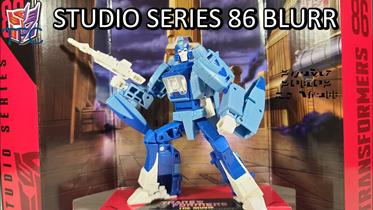 TF Collector Studio Series 86 Blurr Review!