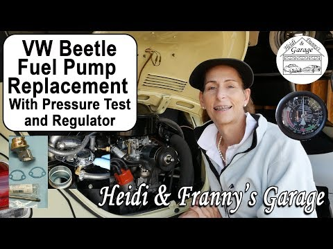 How to Replace a Fuel Pump on a Classic VW Beetle (DIY – Pressure Test & Regulator)