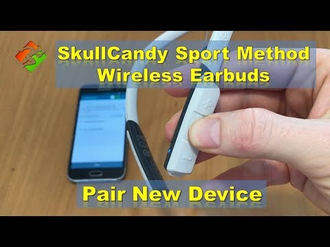 Skullcandy method wireless headphones reset