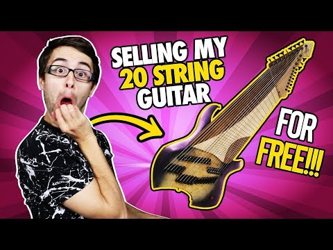 I'm Selling My 20 String Guitar For FREE!