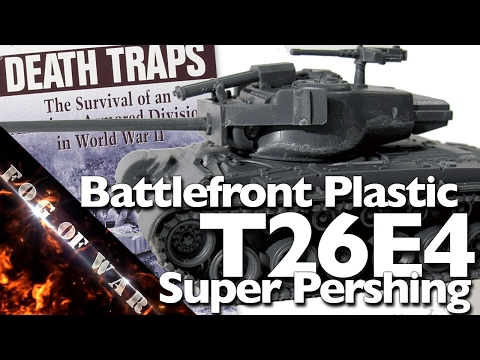Review   Plastic T26E4 Super Pershing & Belton Cooper's Death Traps   Flames of War