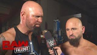 Gallows & Anderson möchten Enzo & Cass aus dem Weg räumen: Raw Fallout, 24. Oktober 2016