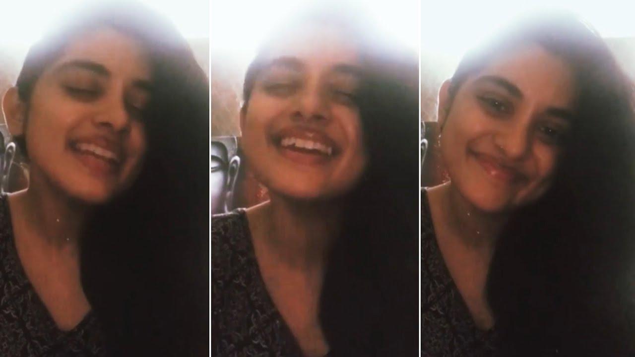 Actress Nivetha Thomas Sings Afreen Afreen Song   Manastars