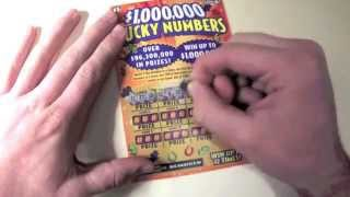 "$5 Massachusetts Scratch Off Lottery Ticket ""Lucky Numbers"""