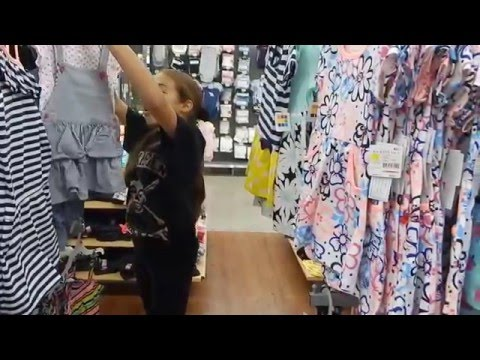 Shopping at Walmart with New Full Body Silicone Baby