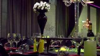 Видео оформление свадебного зала !
