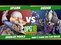 Smash Ultimate Tournament - TA | Spark (Sheik) Vs. Dedge (Wolf) DPOTG18 SSBU Pools