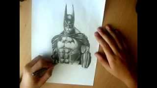 Batman Arkham Asylum : Speed Drawing