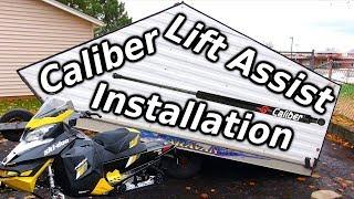 Caliber Lift Assist Installation on Karavan Trailer