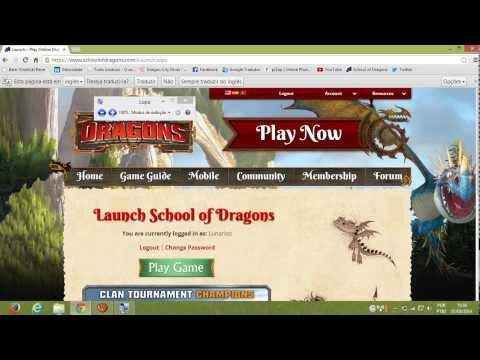 Como ativar sua conta do jogo School of Dragon (Tutorial)