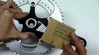 "RACEshield - ""Tough"" test on SRAM Red crank arm"