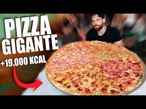 PIZZA GIGANTE DE 7KG (+19.000 KCAL)