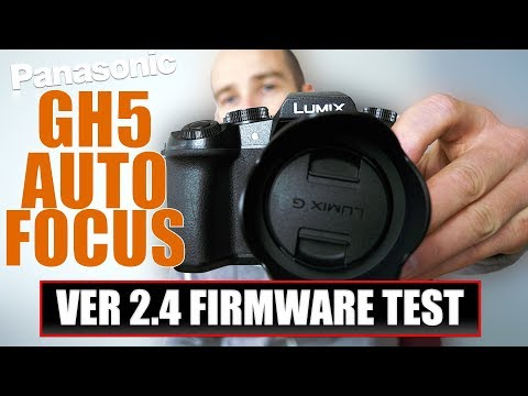 The LUMIX GH5 and GH5s are getting autofocus firmware updates