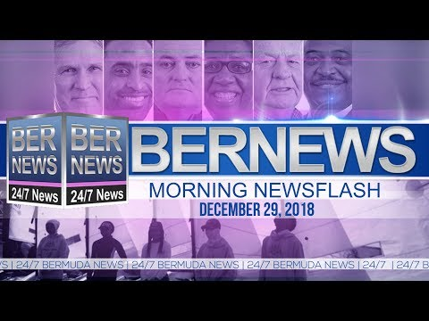 Bernews Newsflash For Saturday December 29, 2018