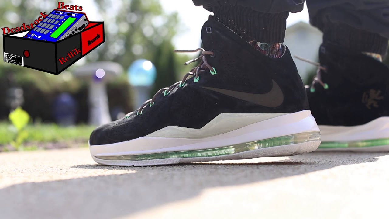 "best loved de2d8 4804e Nike LeBron X(10) EXT ""Black Suede"" On Feet (eXimus Beat)"