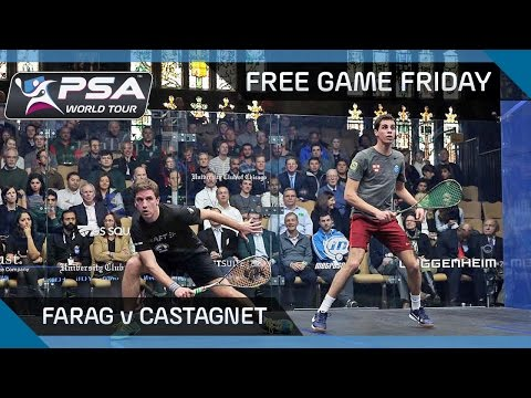 Squash: Free Game Friday - Farag v Castagnet - Windy City Open 2016