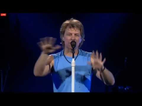 Bon Jovi - Livin' On A Prayer(Live Cleveland 2013 ENCORE)