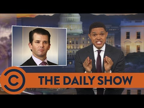 Thumbnail: Trump Jr. Gets Catfished By A Russian Lawyer - The Daily Show | Comedy Central