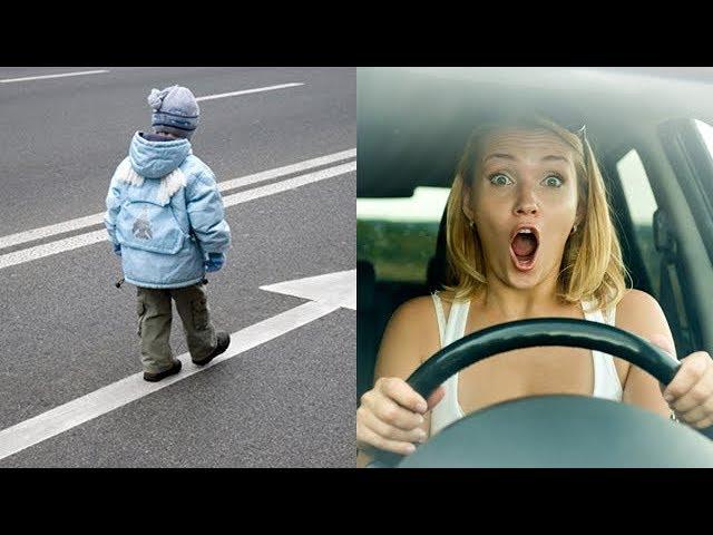 """Если вы увидели """"малыша"""" на дороге, ни в коем случае не выходите из автомобиля! И вот почему…"""