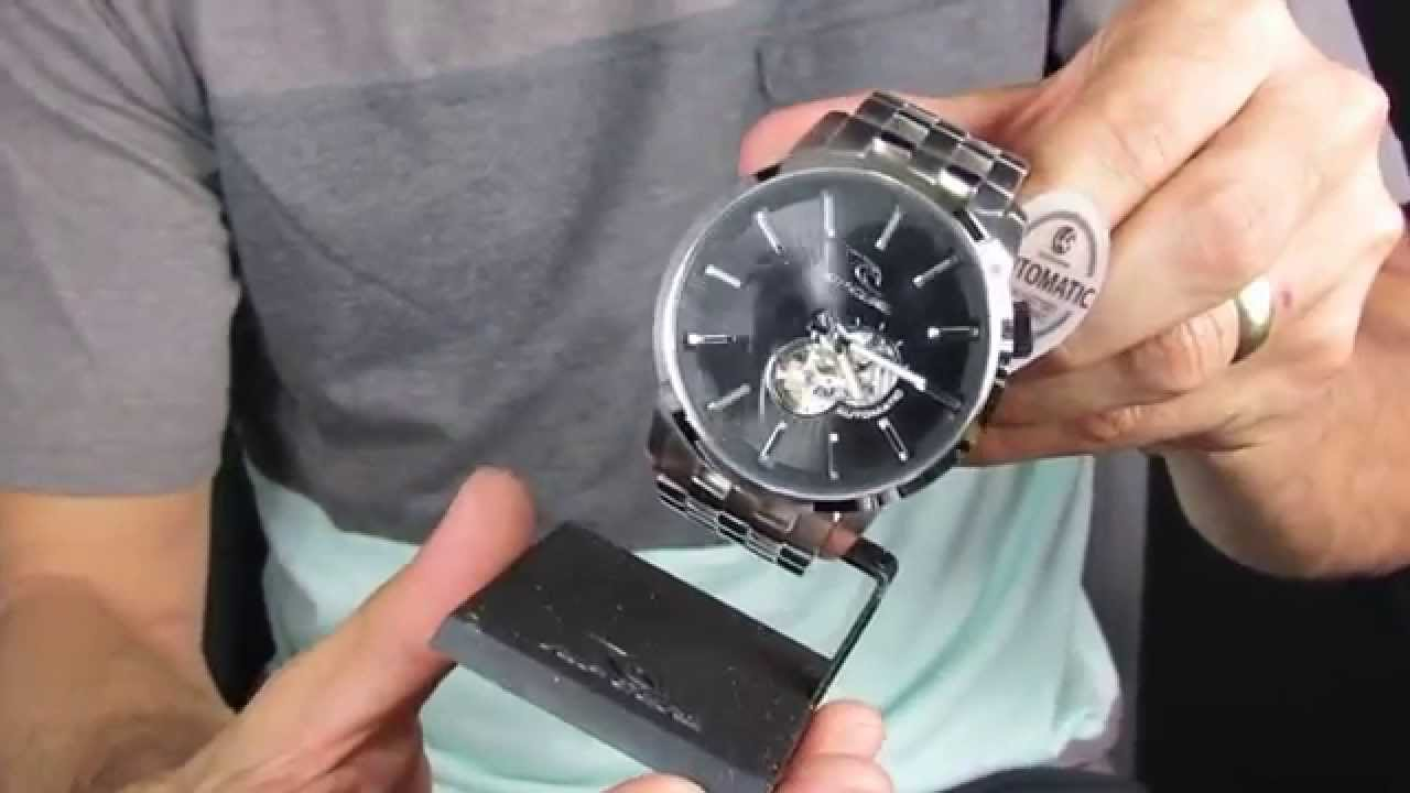 1138d8acaaa Relogio RipCurl Detroit Automatico Black by janderson assis